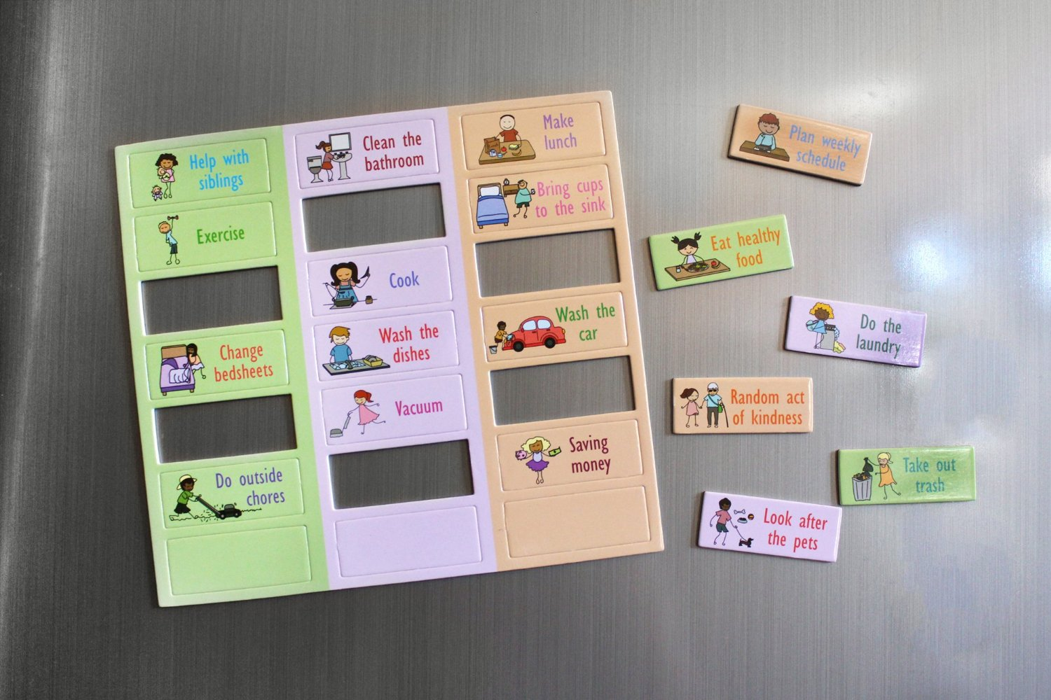 Magnetic Responsibility Chore Chart Pack