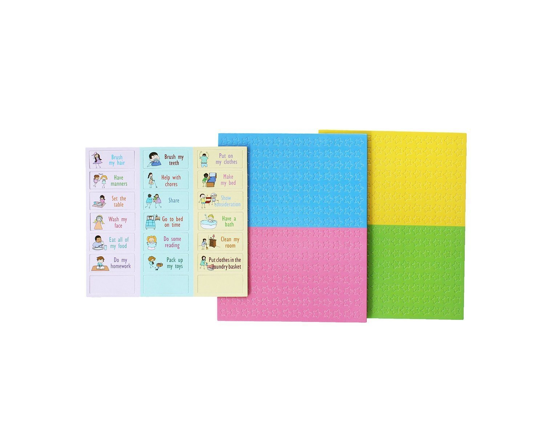 Yoyoboko Magnetic Responsibility Star Chore Chart Pack