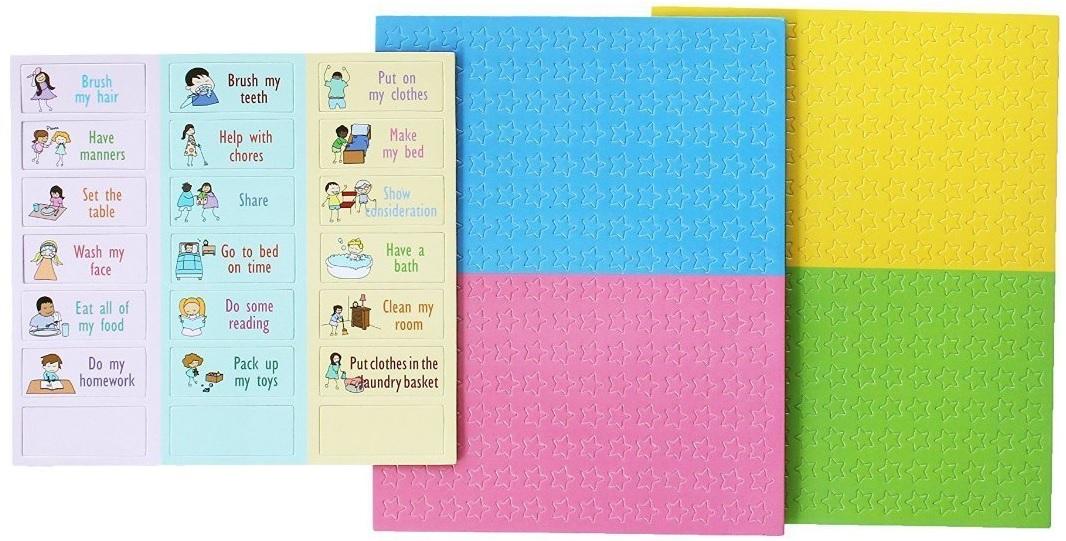 Yoyoboko Magnetic Star Chore Chart Pack