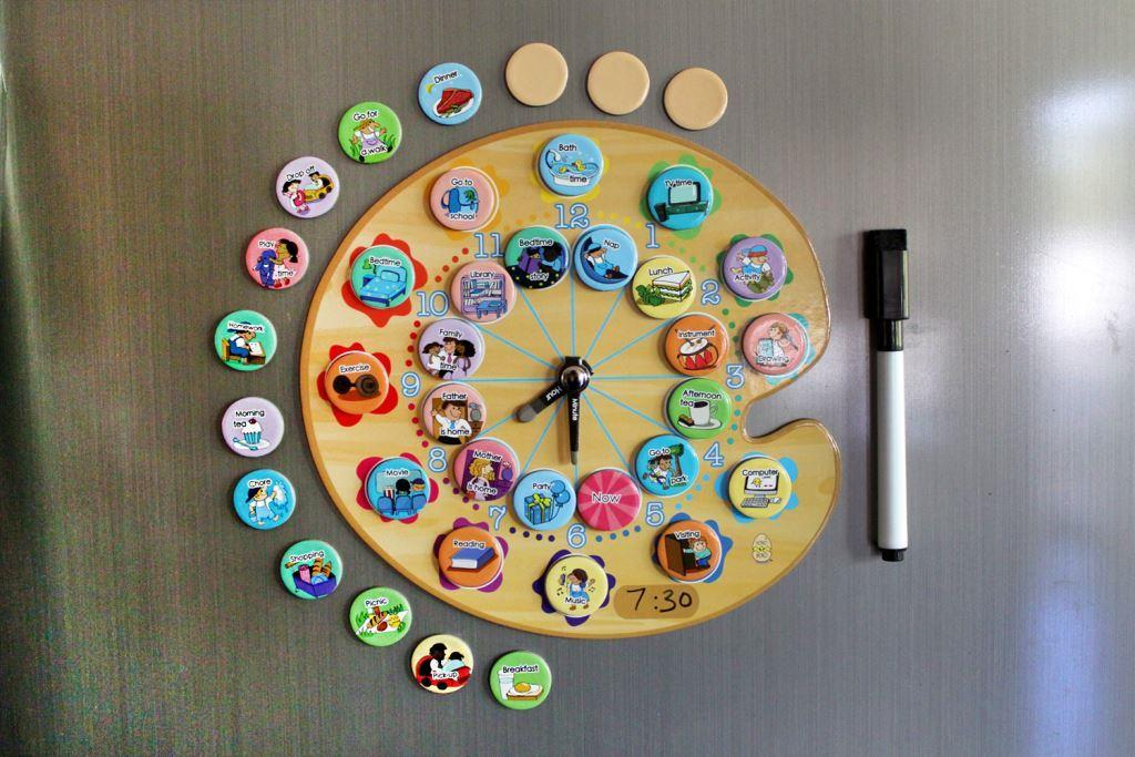 Yoyoboko A4 Paint Palette Time Organizer